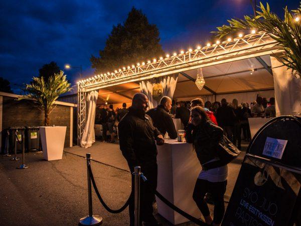 Ravintolateltta MG, Pori Jazz 2013
